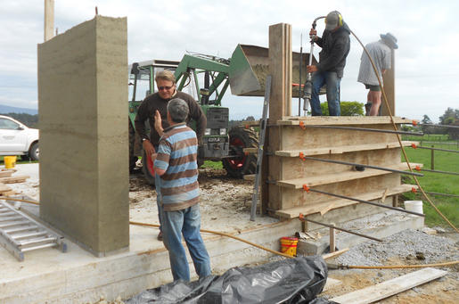 Rammed Earth Building Golden Bay - Ecofind